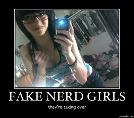 fake nerd girl