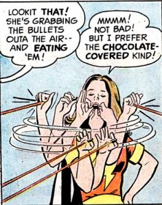 Eating bullets. You only wish you were this cool.
