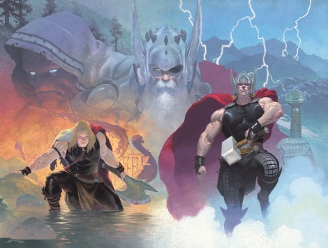 Thor-God-of-Thunder-1-Cover-Wrap-Around-Jason-Aaron-Esad-Ribic-Dean-White-VCs-Joe-Sabino-Marvel-Now-Trinity-Comics-November-2012