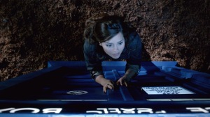 Clara: Let me in.  TARDIS: Naw. No. Nope. Sheesh. No. Well may- No.