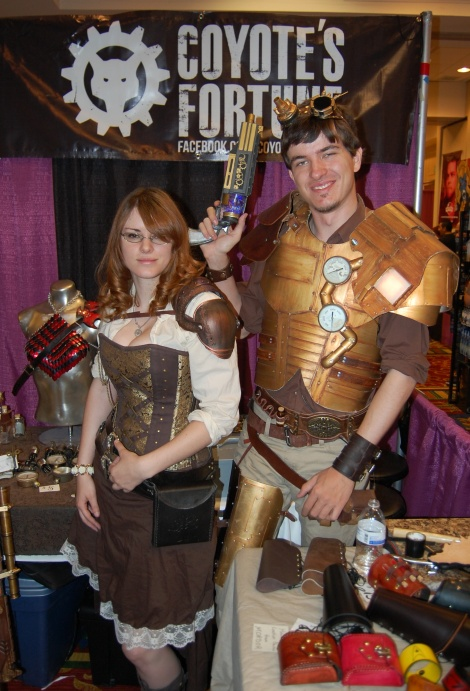 Steampunk artisans from Coyote's Fortune.