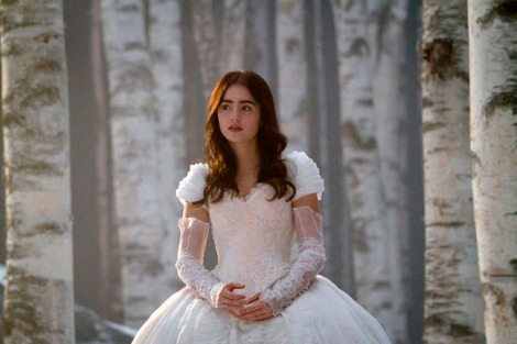 "Lily Collins, ""Snow White,"" September 13, 2011"