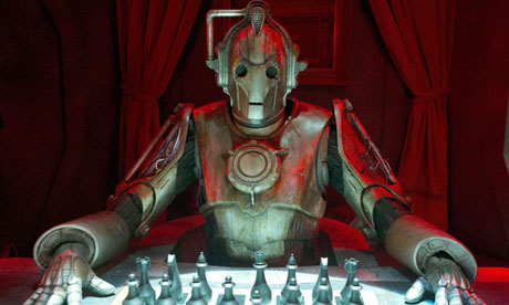Doctor Who … a Cyberman makes his move.